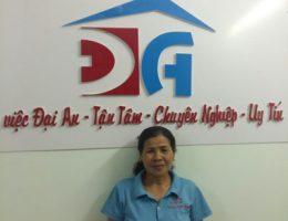 Cô Nguyễn Thị Huệ
