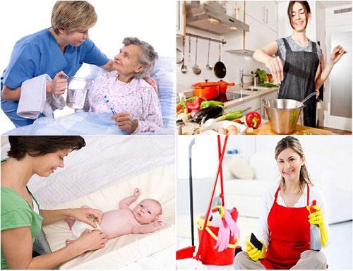 Dịch vụ giúp việc gia đình tại Từ Liêm uy tín chất lượng