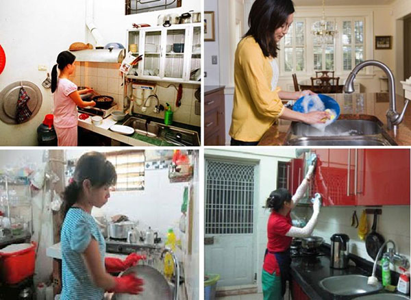 Dịch vụ giúp việc tại Sóc Sơn chuyên nghiệp
