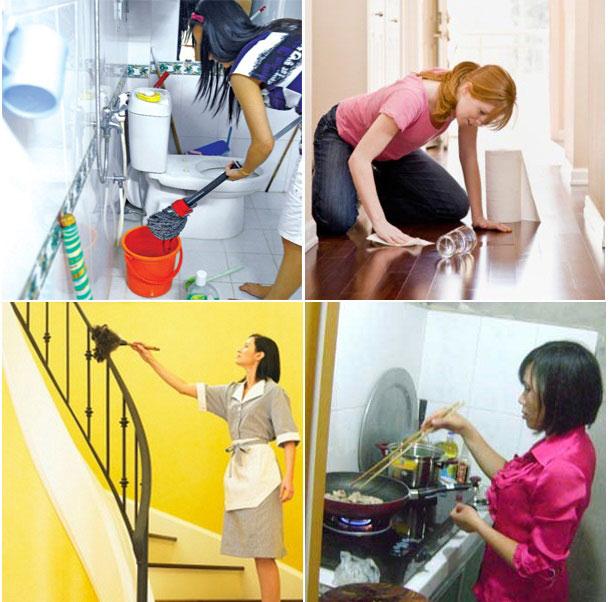 sử dụng dịch vụ giúp việc cho người nước ngoài