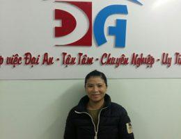 Chị Nguyễn Thị Hoa