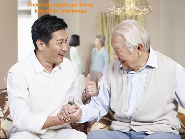 Chăm sóc người già trong khu đô thị VinHomes chuyên nghiệp
