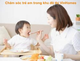 Chăm Sóc Trẻ Em Trong Khu đô Thị VinHones Chuyên Nghiệp