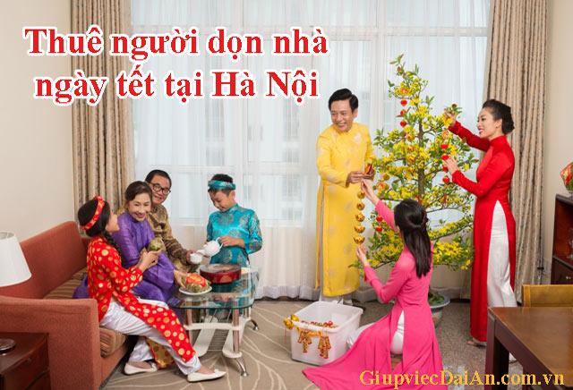 Thuê người dọn nhà ngày tết tại Hà Nội